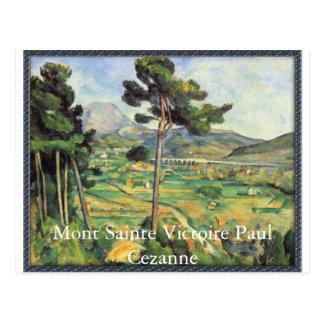 Mont Sainte Victoire - Paul Cezanne Postcard