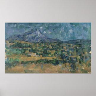 Mont Sainte-Victoire Poster