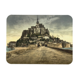 Mont St Michel I, Normandy, France Flexible Magnets