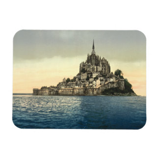 Mont St Michel II, Normandy, France Flexible Magnets
