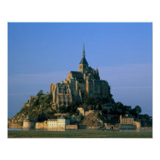 Mont St Michel, Manche, Normandy, France Poster