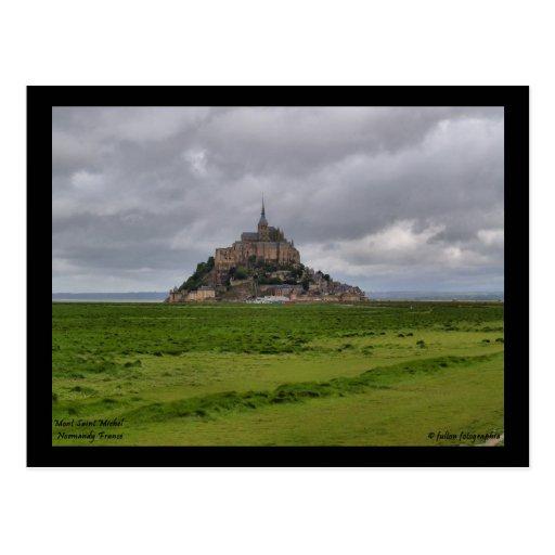 Mont St Michel Postcard