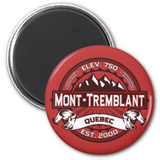Mont-Tremblant Logo 6 Cm Round Magnet