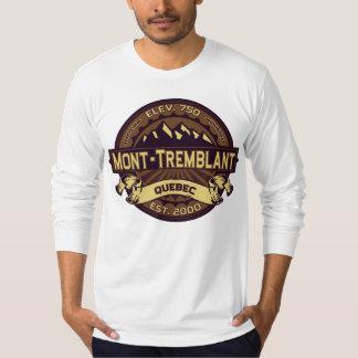 Mont-Tremblant Quebec Sepia T-Shirt