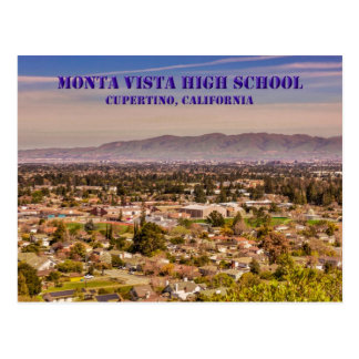 Monta Vista High School Cupertino, CA Postcard
