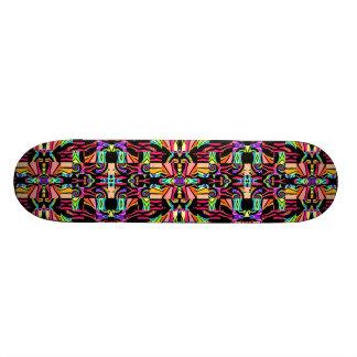 Montage Fractal 21.6 Cm Old School Skateboard Deck