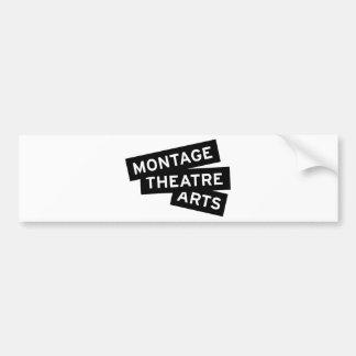 Montage Theatre Arts Bumper Sticker
