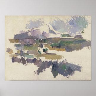 Montagne Sainte-Victoire, 1904-05 Poster