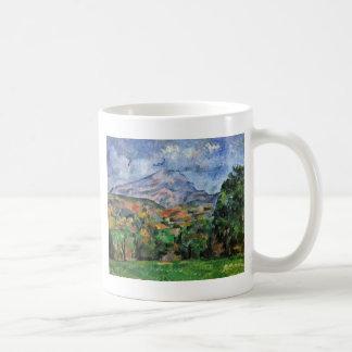 Montagne Sainte-Victoire By Paul Cézanne Coffee Mug