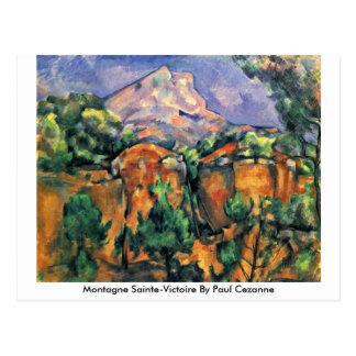 Montagne Sainte-Victoire By Paul Cezanne Postcard