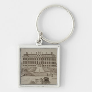Montague House, now the British Museum, 1813 (engr Keychains