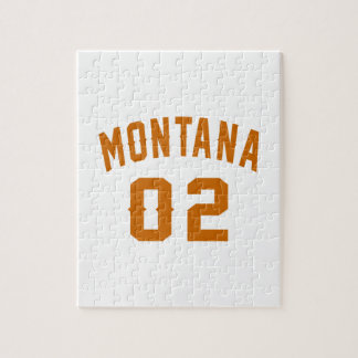 Montana 02 Birthday Designs Jigsaw Puzzle