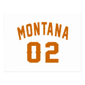 Montana 02 Birthday Designs Postcard