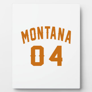 Montana 04 Birthday Designs Display Plaque