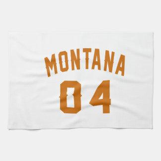 Montana 04 Birthday Designs Hand Towels