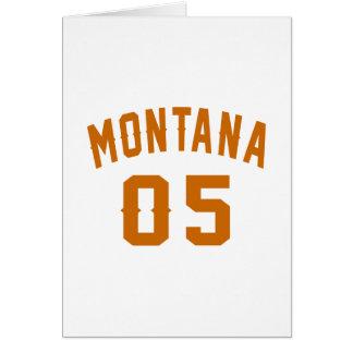 Montana 05 Birthday Designs Card