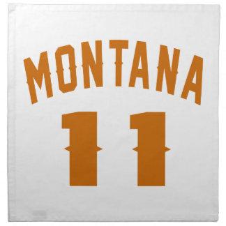 Montana 11 Birthday Designs Napkin