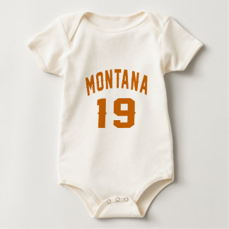 Montana 19 Birthday Designs Baby Bodysuit