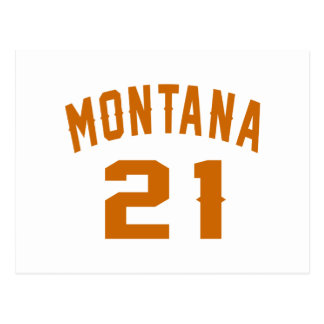 Montana 21 Birthday Designs Postcard