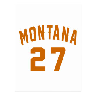Montana 27 Birthday Designs Postcard