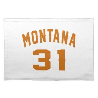 Montana 31 Birthday Designs Placemat