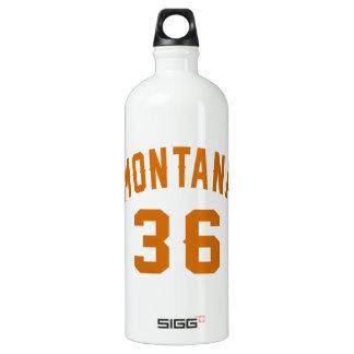 Montana 36 Birthday Designs Water Bottle