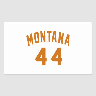 Montana 44 Birthday Designs Rectangular Sticker