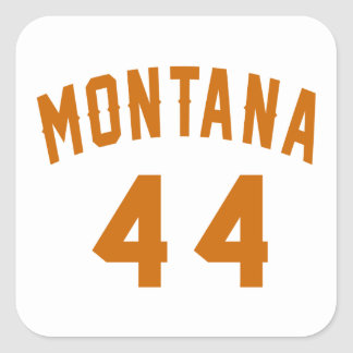 Montana 44 Birthday Designs Square Sticker