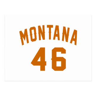 Montana 46 Birthday Designs Postcard