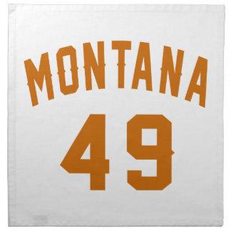 Montana 49 Birthday Designs Napkin