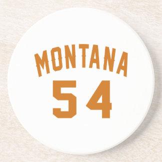 Montana 54 Birthday Designs Coaster