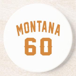 Montana 60 Birthday Designs Coaster