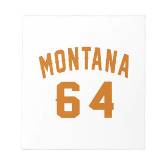 Montana 64 Birthday Designs Notepad