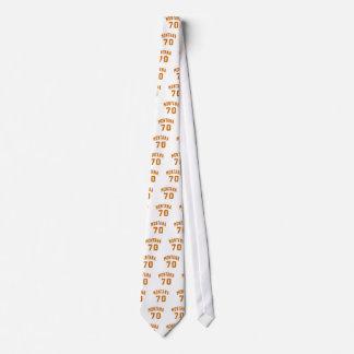 Montana 70 Birthday Designs Tie