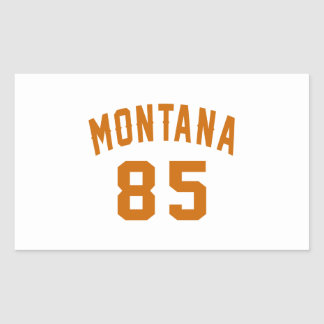 Montana 85 Birthday Designs Rectangular Sticker