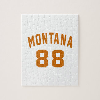 Montana 88 Birthday Designs Jigsaw Puzzle