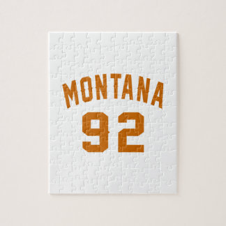 Montana 92 Birthday Designs Jigsaw Puzzle
