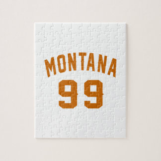 Montana 99 Birthday Designs Jigsaw Puzzle