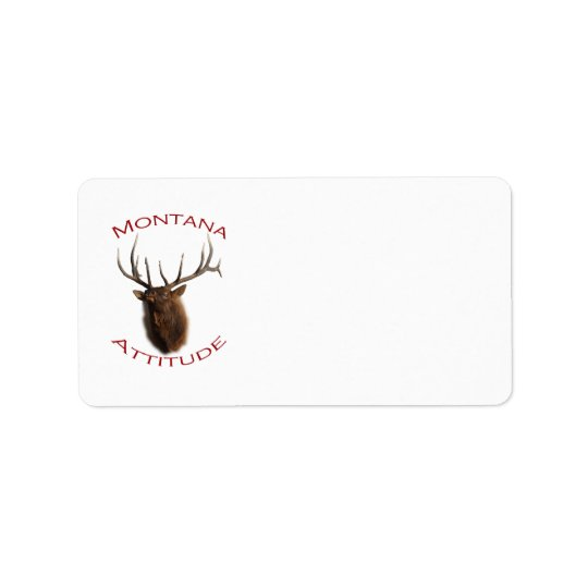 Montana Attitude Address Label