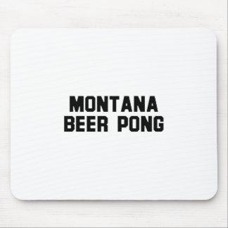 Montana Beer Pong Mousepads