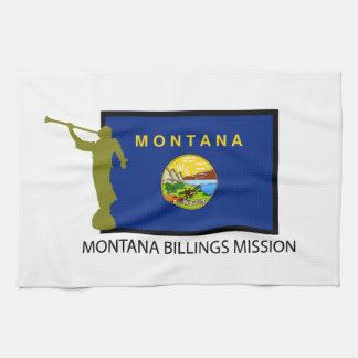 MONTANA BILLINGS MISSION LDS CTR TEA TOWEL