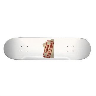 Montana Born - Stamp on Map Custom Skateboard