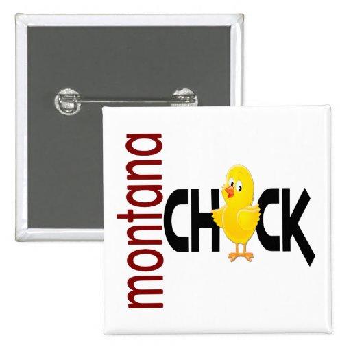 Montana Chick 1 Buttons