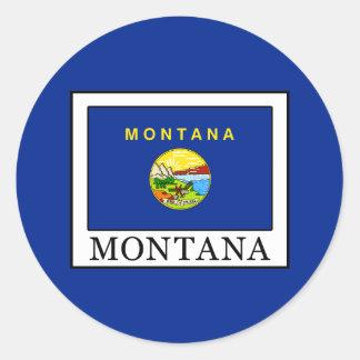 Montana Classic Round Sticker