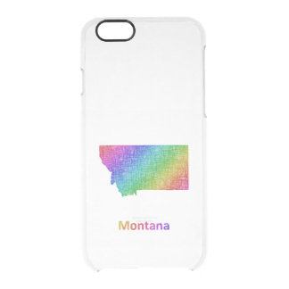 Montana Clear iPhone 6/6S Case