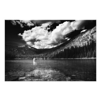 Montana Fisherman Photo Print