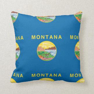 MONTANA FLAG THROW PILLOWS