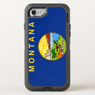 Montana Flag OtterBox Defender iPhone 8/7 Case