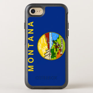 Montana Flag OtterBox Symmetry iPhone 8/7 Case