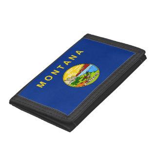 Montana Flag Trifold Wallet